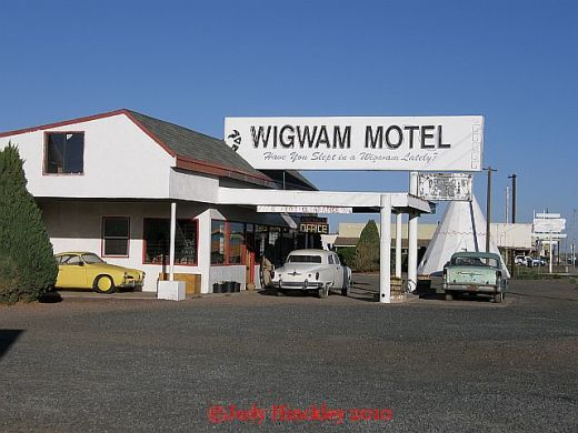 DAY ONE – THE ROUTE 66 ADVENTURE BEGINS