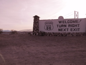 INTO THE MOJAVE