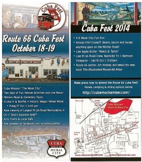 EXCITING NEWS AND DEVELOPMENTS ON ROUTE 66